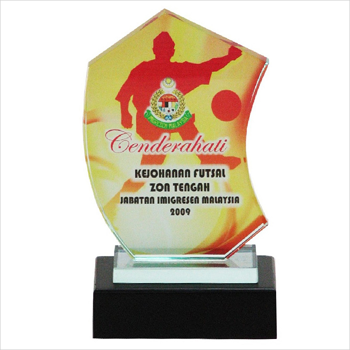 8096 - Exclusive Crystal Glass Awards