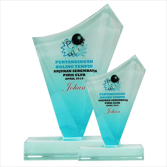 8135 - Exclusive Crystal Glass Awards