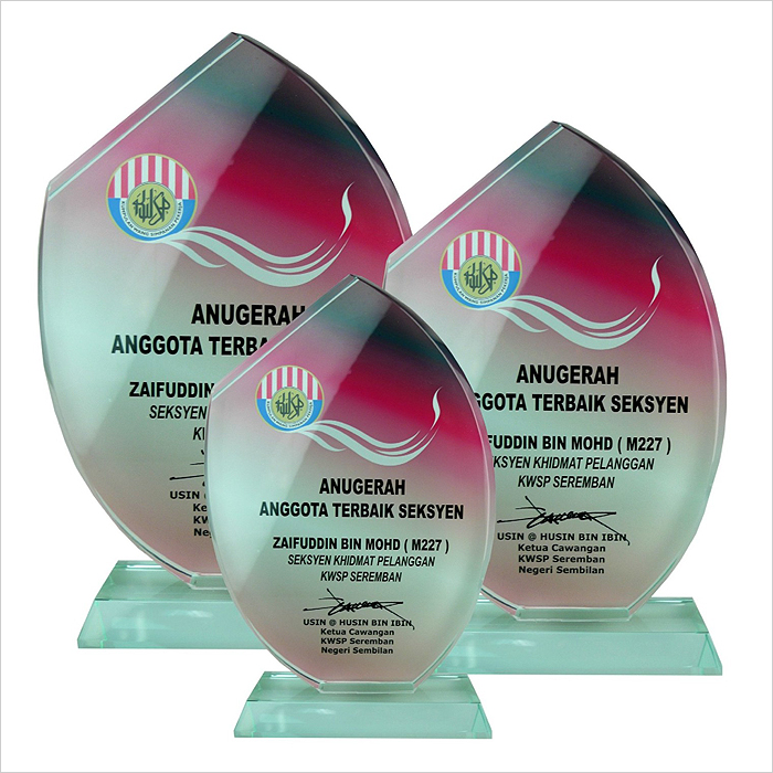 8168 - Exclusive Crystal Glass Awards