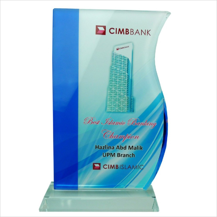 8169 - Exclusive Crystal Glass Awards