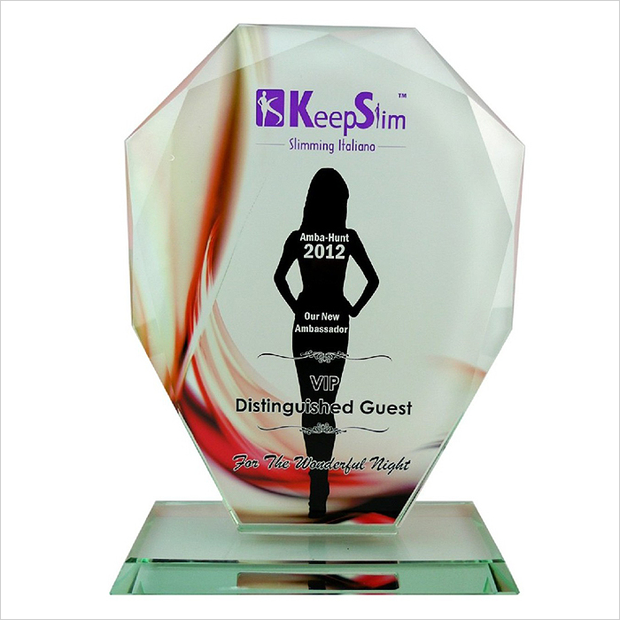 8170 - Exclusive Crystal Glass Awards