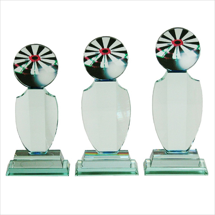 8109 - Exclusive Crystal Glass Awards