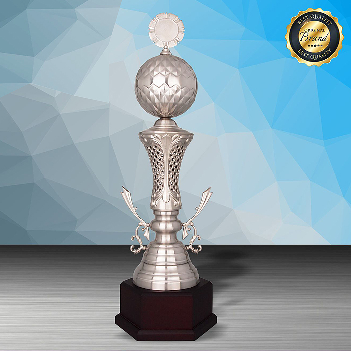 WS6196 - Exclusive White Silver Trophy