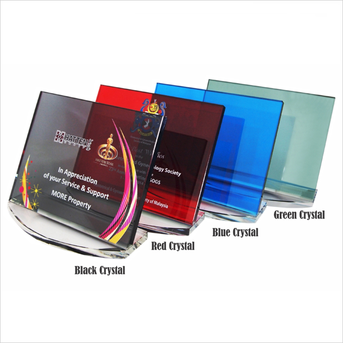 3033 - Exclusive Crystal Plaque