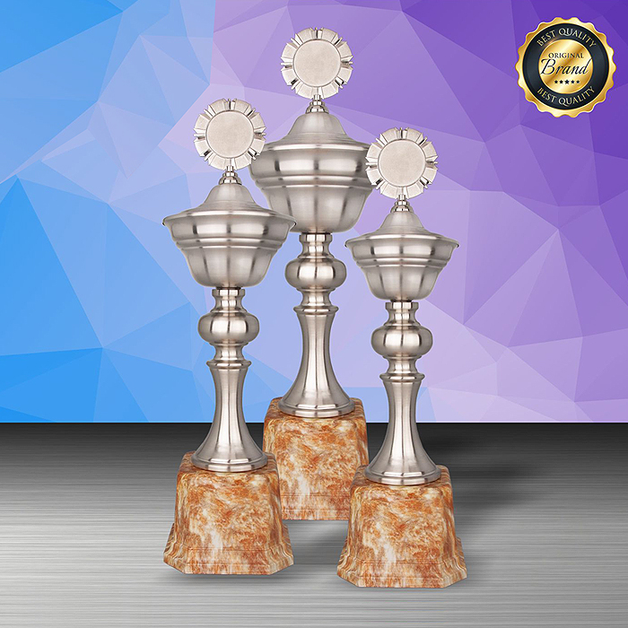 WS6197 - Exclusive White Silver Trophy