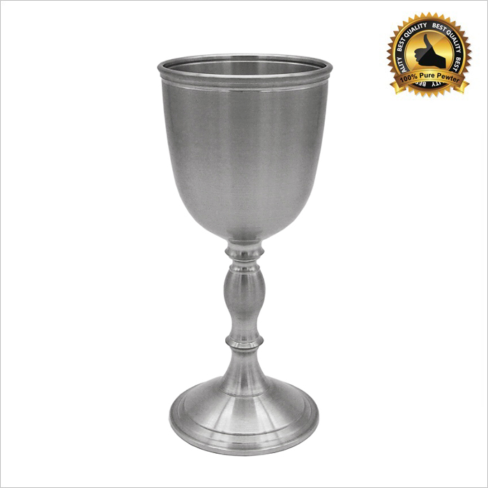 7246 - Exclusive Pewter Wine Goblet