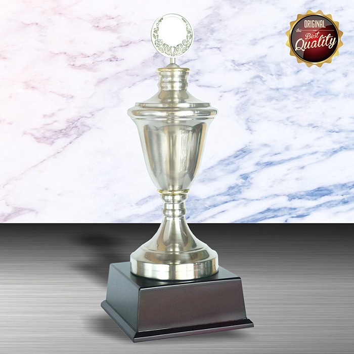 WS6001 - Exclusive White Silver Trophy