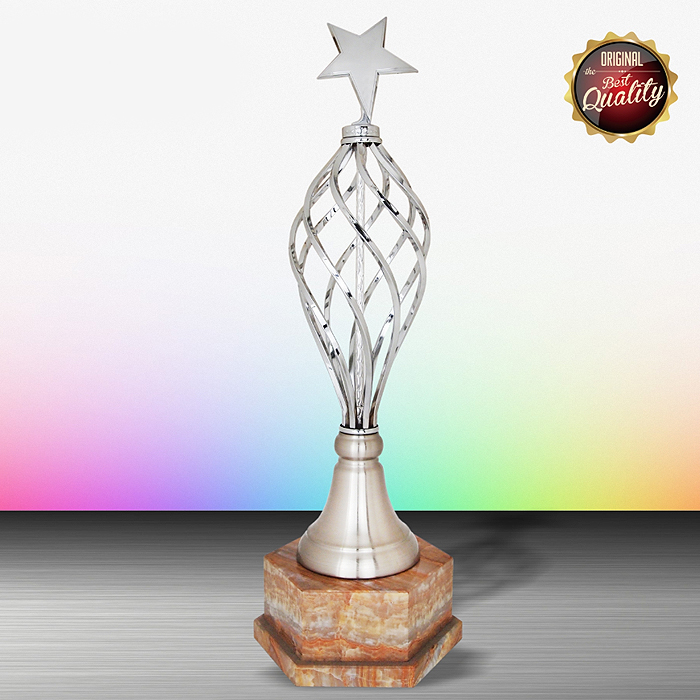 WS6188 - Exclusive White Silver Trophy (Star)